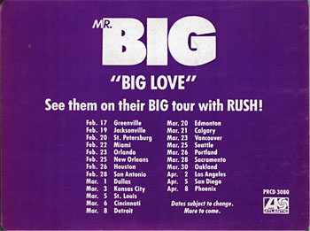 Mr.Big - Big Love